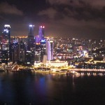 Kaupunki iltavaloissaan